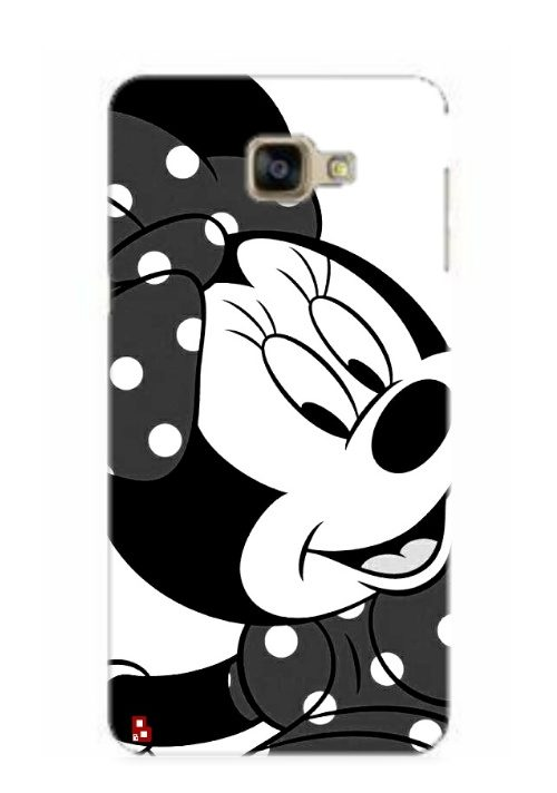 hot sale online 9bf3f 8c682 Minnie Mouse Black & White Phone Cover