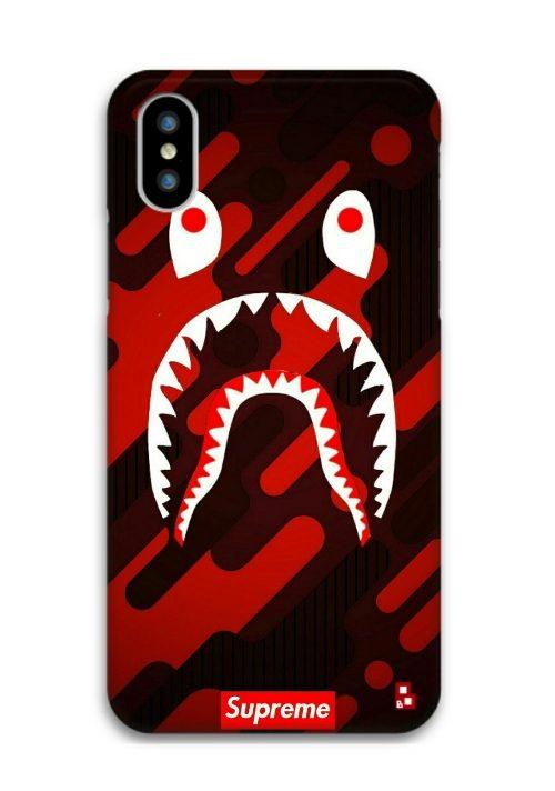 quality design 02fc2 a068b Supreme Bape Phone Cover