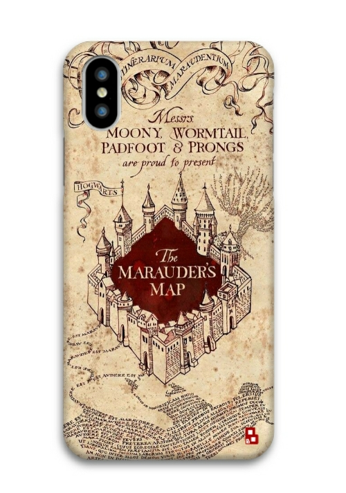 new products 498b0 5195b Harry Potter Marauders Map Phone Cover